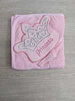 """Детское полотенце-уголок для купания PRINCESS для девочки """"MARI"""" купить оптом в Одессе на 7 км"""