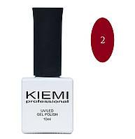Гель-лак Kiemi professional № 002, 10ml