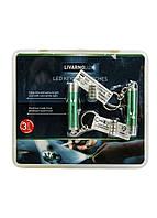Брелок-фонарик LED (2шт) Livarno Lux 5х1см Зеленый