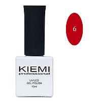 Гель-лак Kiemi professional № 006, 10ml