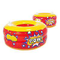 Надувная игрушкам круг-буфер Intex 44601 2 шт с ручками (int44601)