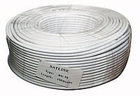 Кабель коаксиальный RG - 58U медь Satline (1*0,81CU+полиэт+96*0. 1LCu) диаметр 5мм, 50 Ом