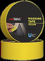Малярна Стрічка PROMAXX Professional Line 48мм20м Жовта 12688, КОД: 1787189