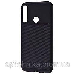 Ultimate Experience Carbon (TPU) Huawei P40 Lite E/Honor 9C black