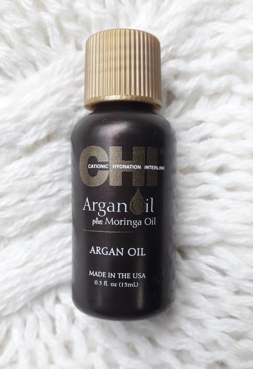 Восстанавливающее масло Аргана и дерева Маринга