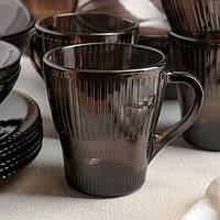 Кружка для чая коричневая Luminarc Эклипс 280 мл (p1853)
