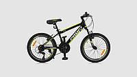 Велосипед PROFI G20FIFA A20.3 Черно-желтый (NA00451)