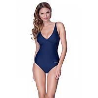 Женский цельный купальник Aqua Speed Grace 38 Темно-синий (aqs069)