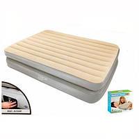 Надувная двухспальная кровать со встроенным насосом Bestway 67477