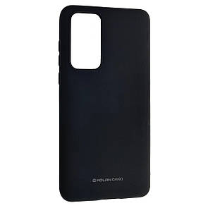 Чехол-накладка Silicone Hana Molan Cano для Huawei P40 Pro (black)
