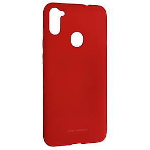 Чехол-накладка Silicone Hana Molan Cano для Samsung A11 (red)