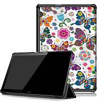 Чехол HUAWEI MediaPad T5 10.1 Print ultraslim butterfly