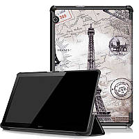 Чехол HUAWEI MediaPad T5 10.1 Print ultraslim paris