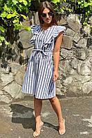 Сукня міді з рюшами на плечах LUREX - чорний колір, L (є розміри), фото 1
