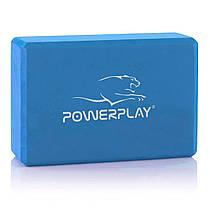 Блок для йоги PowerPlay 4006 Yoga Brick Синий