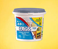 Эмаль универсальная Gloss Aqua Nanofarb 0.9 л