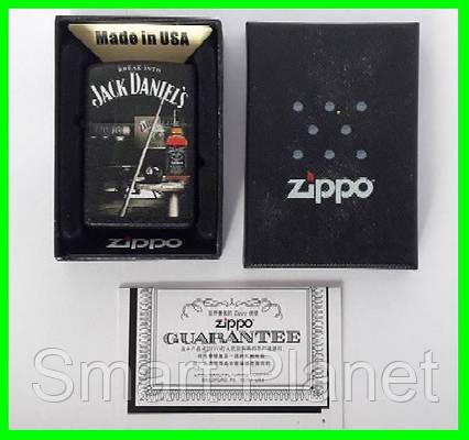 Зажигалка ZIPPO Бензиновая (Jack Daniels) - 02, фото 2