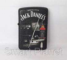 Зажигалка ZIPPO Бензиновая (Jack Daniels) - 02, фото 3