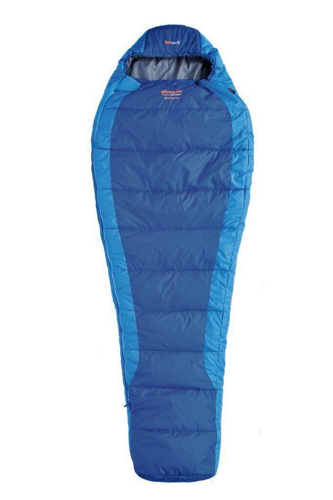 Спальний мішок Pinguin Savana Primaloft 195 Blue Right Zip