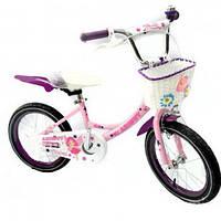 """Детский велосипед для девочки Azimut angel  20"""""""