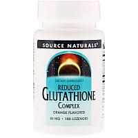 Пищевая добавка (Reduced Glutathione Complex) 100 леденцов
