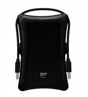 "Жорсткий диск Silicon Power 2.5"" USB 3.2 1TB Armor A30 Black (SP010TBPHDA30S3A)"