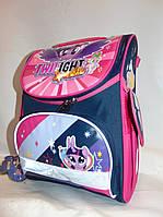 """Школьный каркасный рюкзак для девочки  (36х26 см) """"Malina"""" LG-1540"""