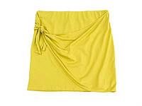Спідниця літня оливкового кольору C&A (розмір XL)
