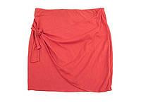 Спідниця літня червоного кольору C&A (розмір XL)
