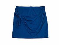 Спідниця літня синього кольору C&A (розмір XS-S)
