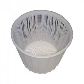 """Форма для сыра """"Круглая"""" d-17,5 х 14,5, h-15 см выход продукции до 2,8 кг. пластиковая Консенсус"""