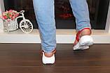 Босоножки женские красные Б503, фото 5