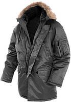 Куртка парка зимняя N3B MilTec Black 10181002