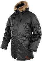 Куртка парка зимняя N3B MilTec Black 10181002, фото 2