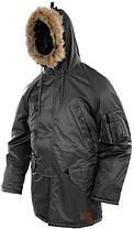 Куртка парка зимняя N3B MilTec Black 10181002, фото 3