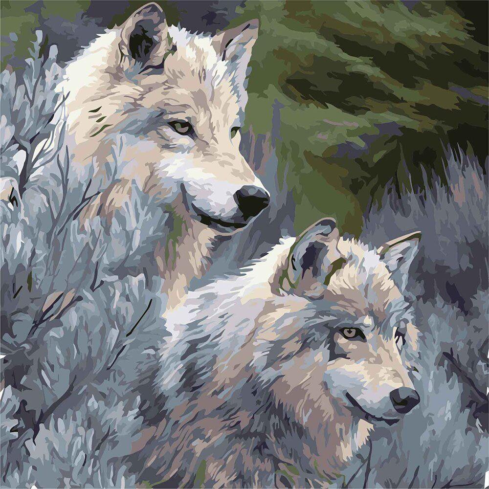KHO4159 Картина-раскраска Верность, Без коробки