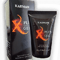 X-plus Gel (Икс-плюс Гель) - средство для потенции, фото 1