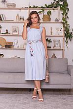 Летнее платье из коттона М00036/а размер xs,s,m,l,xl,2xl (де-вс)