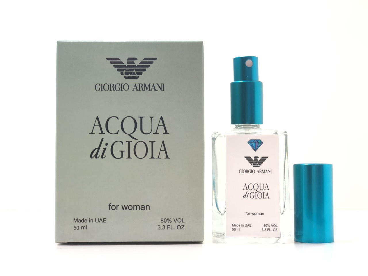 Парфюм для девушек мини Giorgio Armani Acqua di Gioia (Джорджио Армани Аква Ди Джиола) 50 мл Diamond - реплика