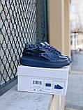 🔥 Кроссовки кеды женские Alexander McQueen Patent Blue (александер макквин) синие лаковые, фото 8