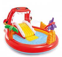 Дитячий надувний ігровий центр «Гірка» 196*107*170 див., фото 1