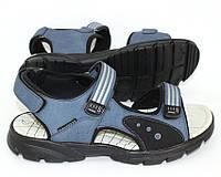 Спортивные босоножки на липучках с открытым носком для мальчика, фото 1