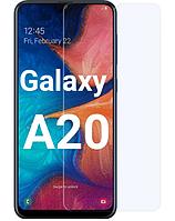 Защитное стекло для Samsung Galaxy A20 A205 прозрачное (самсунг а20)