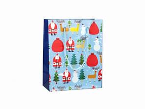 Подарочный пакет New year 12 см