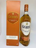 Виски Grant's (Грантс) Rum Cask Finish в подарочной коробке, 1 л