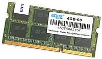 Оперативная память для ноутбука Edge SODIMM DDR3 4Gb 1066MHz 8500s 2R8 CL7 (4GB-60) Б/У, фото 1