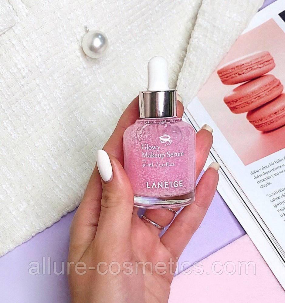 Укрепляющая сыворотка для макияжа с эфектом праймера Laneige Glowy Makeup Serum 5мл