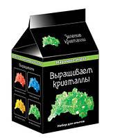 """Научные мини-игры """"Выращиваем кристаллы"""" зеленые 0340 Ranok Creative 12116006Р"""