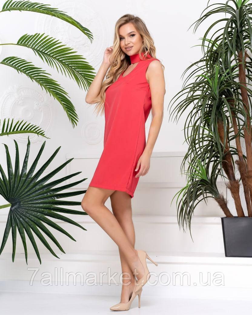 """Платье женское молодежное  размер 42-46 (2цв)""""AFINA"""" купить недорого от прямого поставщика"""