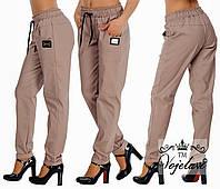 Стильні круті модні літні джинсові жіночі штани-хулігани р. 42. Арт-3021/41, фото 1